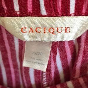Cacique Intimates & Sleepwear - Cacique women's 26/28 lounge pant capris euc